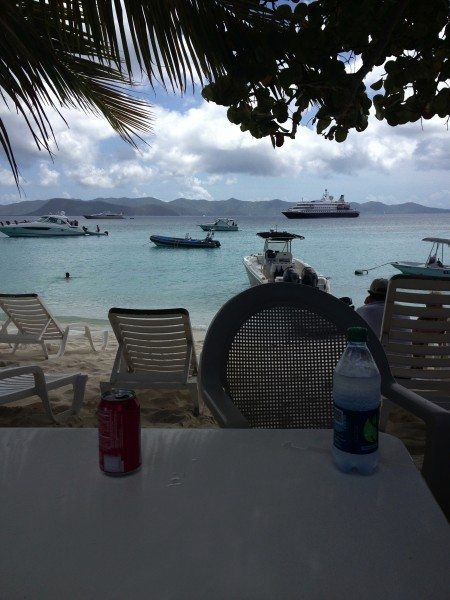 ONE LOVE BAR AND GRILL WHITE BAY JOST VAN DYKE