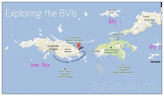 exploring the BVI's