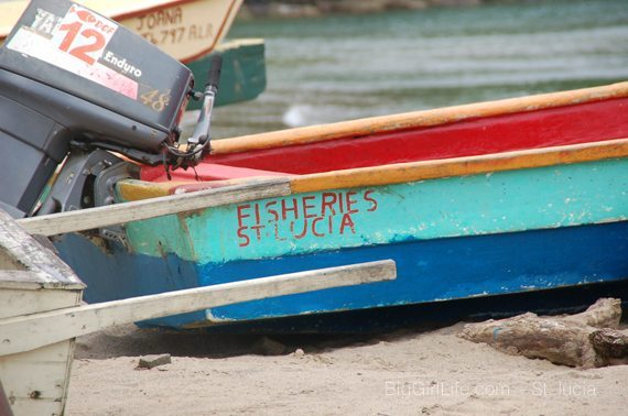 Fishing village - Canaries St. Lucia