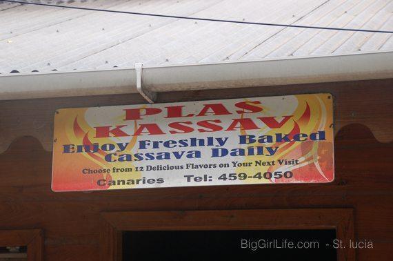 fresh Cassava Bread - St. Lucia