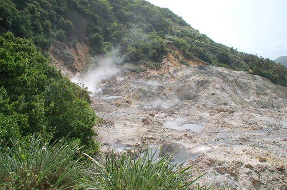 volcano - St. lucia