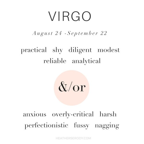 get to know Virgo | Thrive In Midlife
