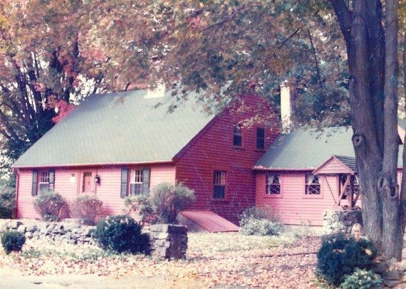Our old house in CT.