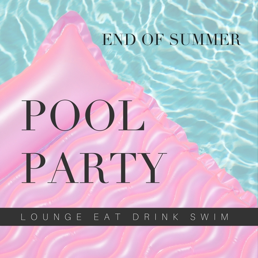 END OF SUMMER POOL PARTY INVITE - THRIVE IN MIDLIFE