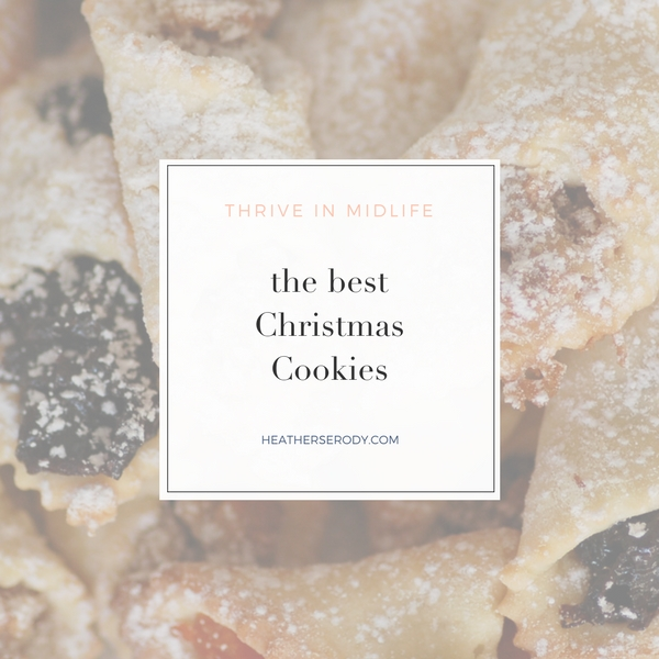 The best Christmas Cookies - Thrive In Midlife