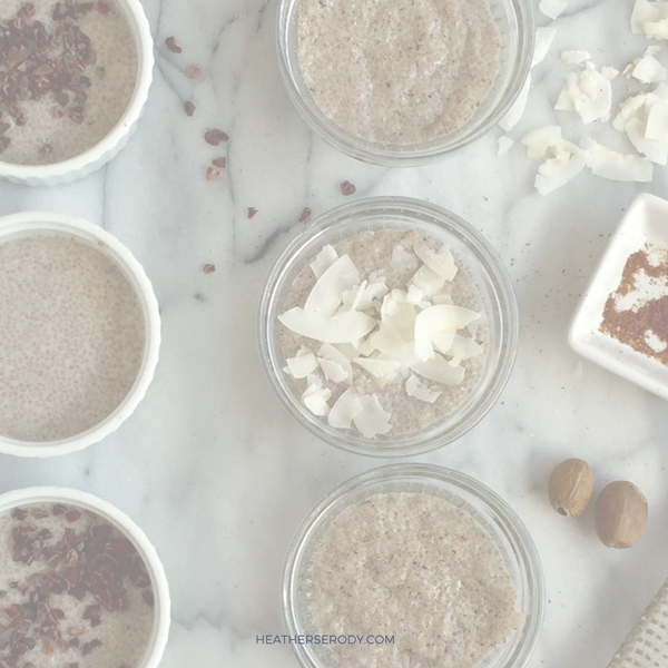 keto coconut chia pudding - Thrive In Midlife