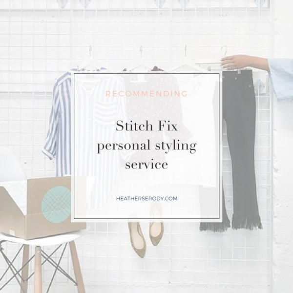 recommending- Stitch Fix- Thrive In Midlife