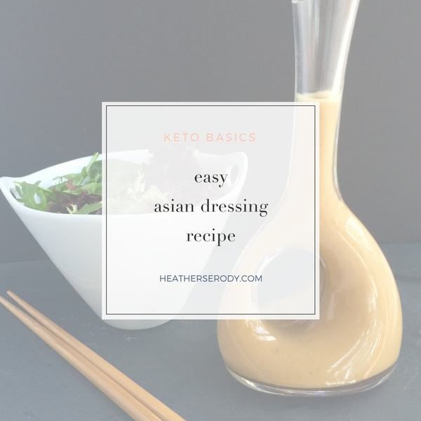 easy asian dressing - Thrive In Midlife