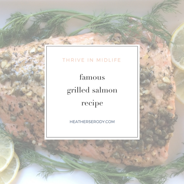 famous salmon recipe | Thrive In Midlife