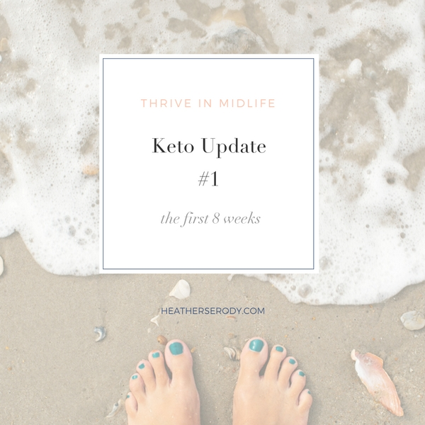 keto update #1 | Thrive In Midlife | HeatherSerody.com