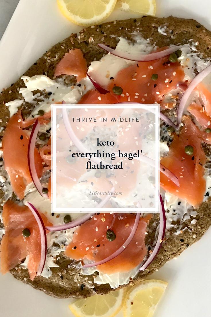 Keto 'Everything Bagel' Flatbread