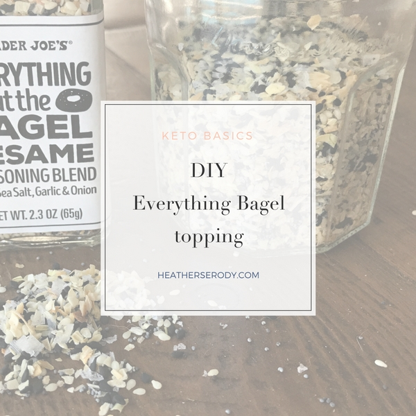 DIY Everything Bagel Topping - Thrive In Midlife