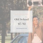 Old School '87-'92 Spotify Playlist | Thrive In Midlife