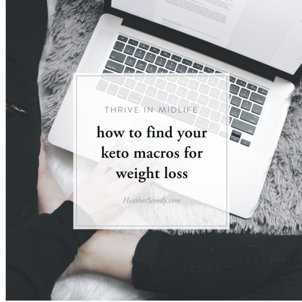 how to find your keto macros for weight loss_Thrive In Midlife