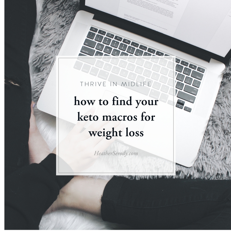 how to find your keto macros for weight loss - Thrive In Midlife