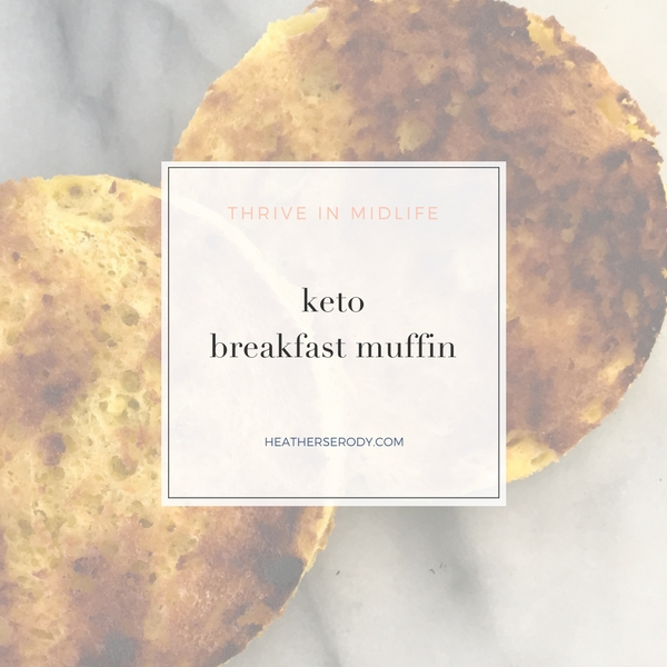keto breakfast muffin-Thrive In Midlife