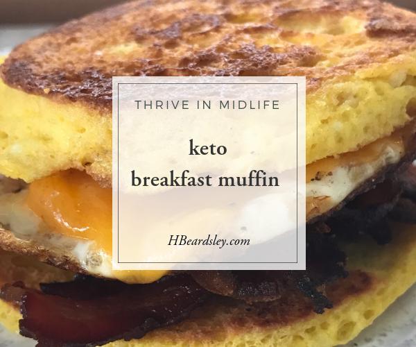 vKeto Breakfast Muffin Recipe Hbeardsley.com