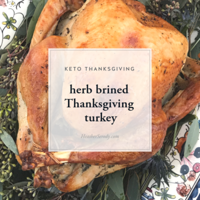 herb brined Thanksgiving turkey • Thrive In Midlife (1)