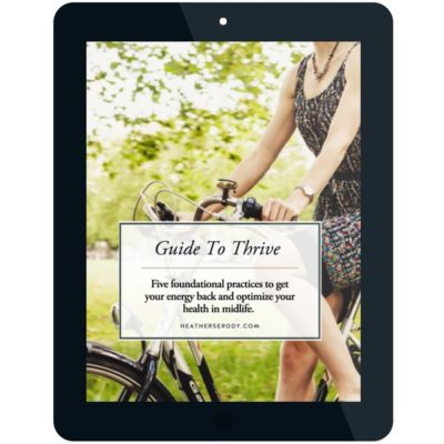 guide to thrive - digital download PDF
