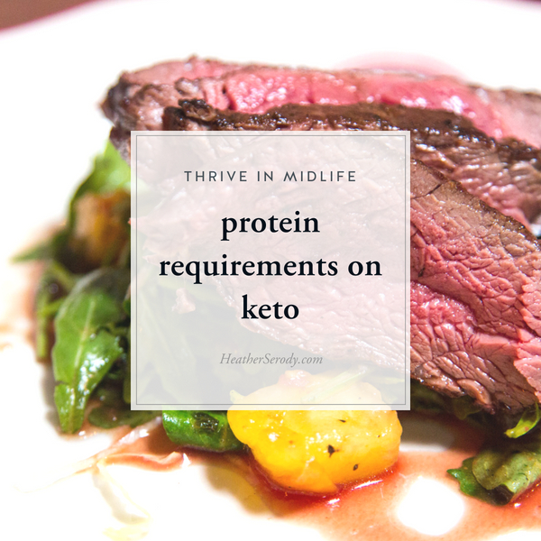 protein requirements on keto