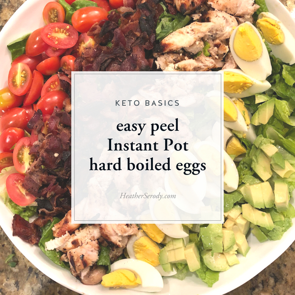 Easy Peel Instant Pot Hard Boiled Eggs • Thrive In Midlife