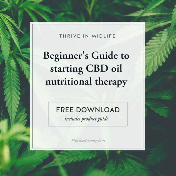 Beginner's Guide to CBD oil + product recommendations - Thrive In Midlife