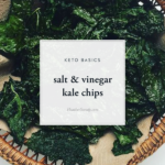 salt & vinegar kale chips • Thrive In Midlife