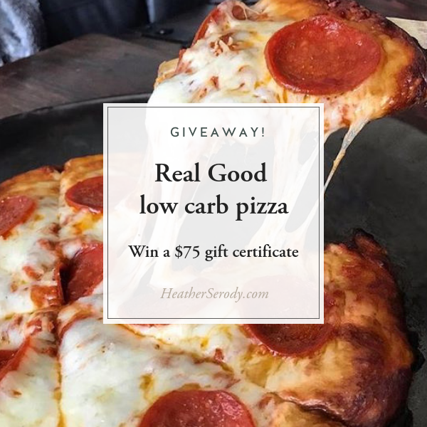 Real Good Pizza giveaway • Thrive In Midlife